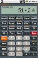 Screenshot of HeavyCalc Pro Calculator