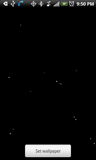 Flying Stars Wallpaper