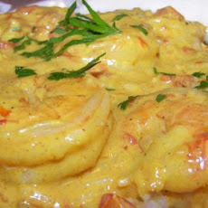 King Prawns in Swahili Sauce