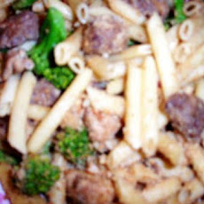 Pasta With Chicken Sausage and Broccoli