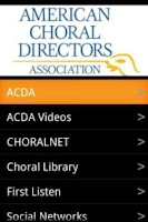 Screenshot of ACDA