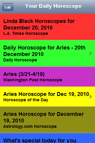 Your Daily Horoscope