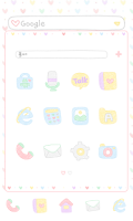 Screenshot of Heart dodol launcher theme