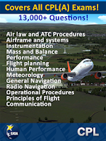 Screenshot of EASA CPL Pilot Exam Prep