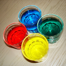 color shots by Renco Gotovac - Food & Drink Alcohol & Drinks ( red, glasses, blue, color, green, shots, yellow )