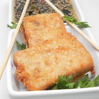 Pan Fried Daikon Cake