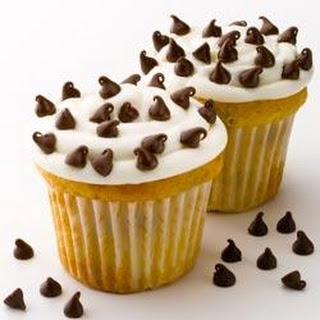Mini Chip White Cupcakes
