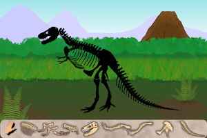 Screenshot of Dinosaur Excavation: T-Rex