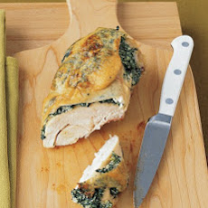 Chicken Breasts Stuffed with Spinach and Ricotta