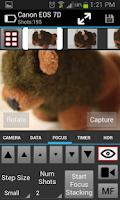 Screenshot of CamRanger Wireless DSLR Remote