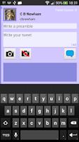 Screenshot of TQueue for Twitter