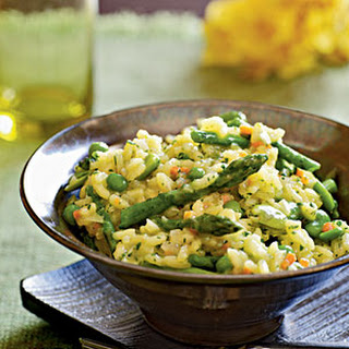 Risotto with Spring Vegetables