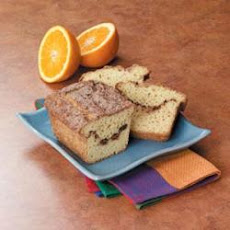 Cinnamon-Orange Swirl Bread