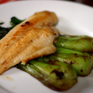 Miso-Glazed Catfish and Baby Bok Choy
