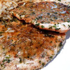 Snappy Parmesan and Pepper Chicken Cutlets