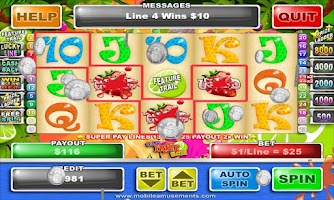 Screenshot of Super Fruit Slots