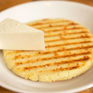 Colombian-style Arepas (Griddled or Grilled Corn Cakes)