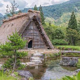 Barn in Shirakawa-go by Sue Matsunaga - Buildings & Architecture Other Exteriors