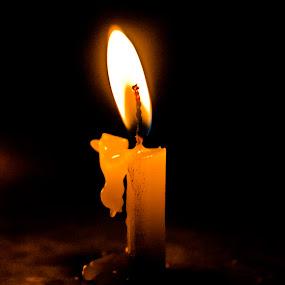by Arkadeb Kar - Novices Only Objects & Still Life ( candle, candlelight, candles, candle light, candid )