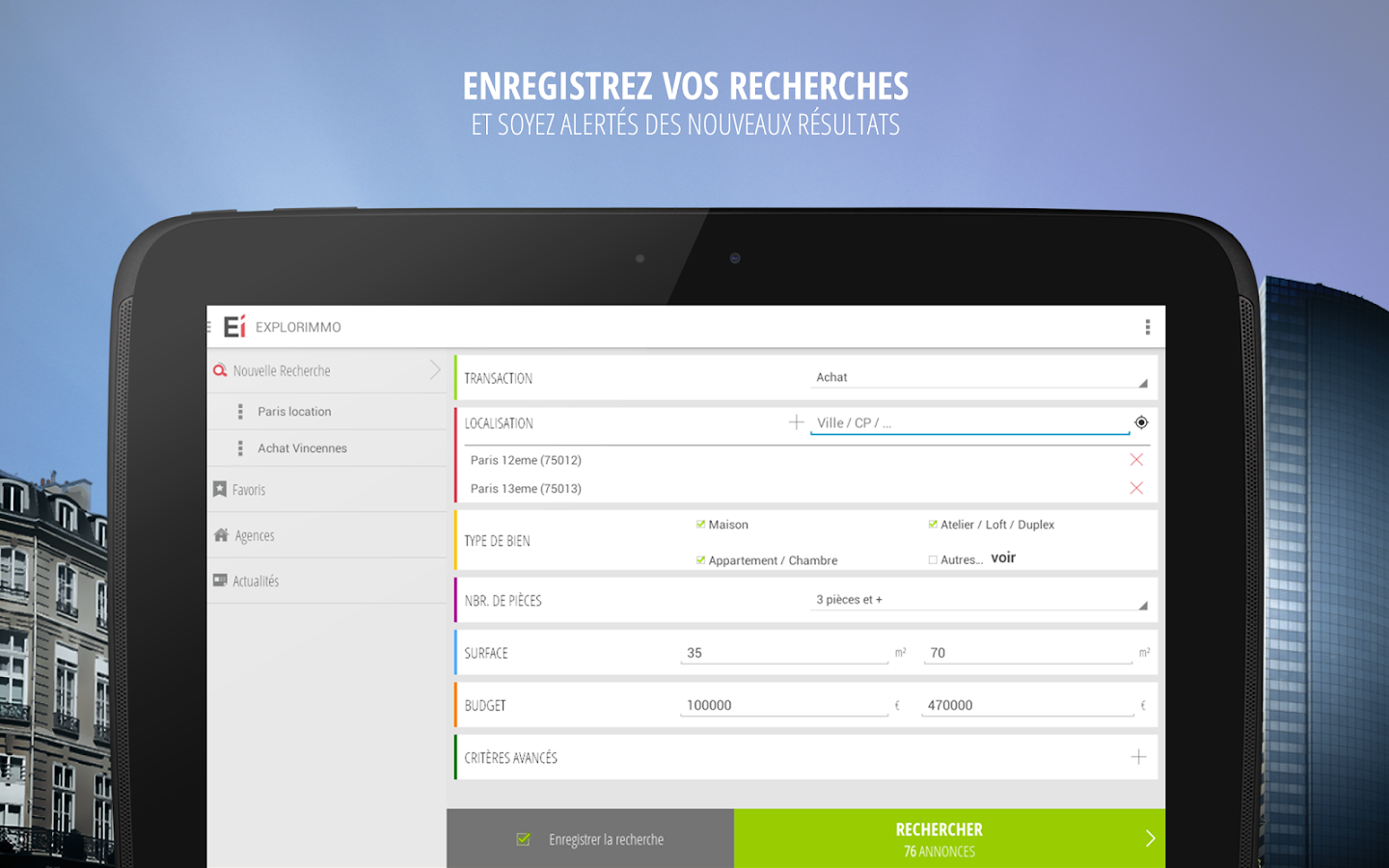 Explorimmo – Immobilier Screenshot 7