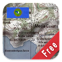 Central America Topo Maps Free icon