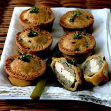 Chicken and Herb Picnic Pie