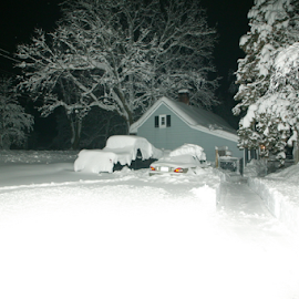 winter wonderland by Alec Halstead - News & Events Weather & Storms ( , snow, winter, cold )
