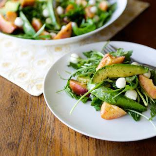 Fresh Peach Salad Recipes
