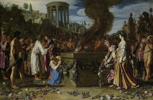 RIJKS: Pieter Lastman: Orestes and Pylades Disputing at the Altar 1614