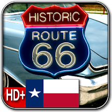 Route 66 TEXAS HD+ Wallpaper