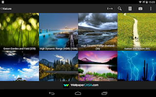 Screenshot of NaturePix HD