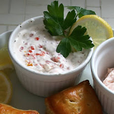 Swedish Sour Cream and Caviar Sauce for Salmon
