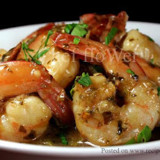 Lemon Cilantro Shrimp/Chicken