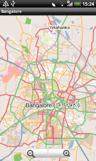 Bangalore Street Map