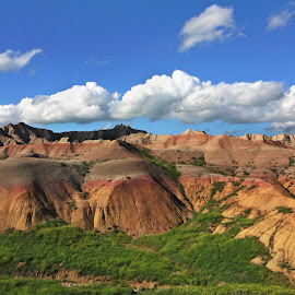 One Last Shot by Melissa Brookmire - Landscapes Mountains & Hills ( badlands national park, south dakota, usa )