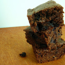 Low Fat Blueberry Brownies