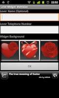 Screenshot of Love Widget Plus