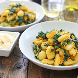 Gnocchi with Butternut Squash and Spinach