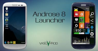 Screenshot of Androse - Windows 8 Clone