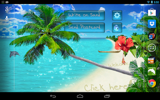 Screenshot of Beach Live Wallpaper