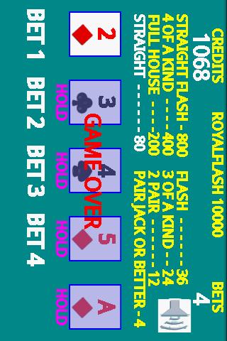 【免費紙牌App】A8 Video Poker-APP點子