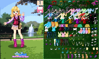 Screenshot of Fun Day in the Park with Kelly