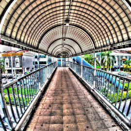 Overhead Pedestrian Bridge by Tido Petang - Buildings & Architecture Bridges & Suspended Structures