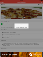Screenshot of All Recipes