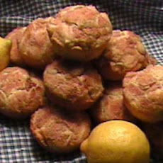 Fresh Lemon Muffins