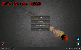 Screenshot of Fireballs HD