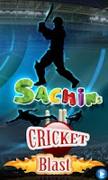 Screenshot of Sachins Cricket Blast