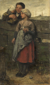 RIJKS: Jacob Maris: painting 1872