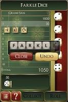 Screenshot of Farkle Dice