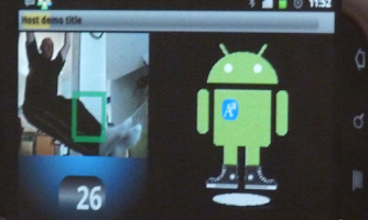 Screenshot of AaCamera will make you move
